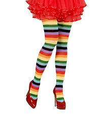 Rainbow Collant Collant Clown Circo ORGOGLIO XL Costume Natale Halloween