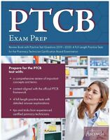 PTCB Exam Prep Review Book with Practice Test Questions 2019-2020: 4 Full-Len...