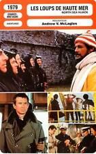 FICHE CINEMA : LES LOUPS DE HAUTE MER - Moore,Mason,Perkins1979 North Sea Hijack