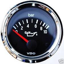 VDO Chrom Öldruckanzeige 10 bar