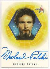 Star Trek 35th Anniversary TOS Autograph Card A13 Michael Pataki Korax