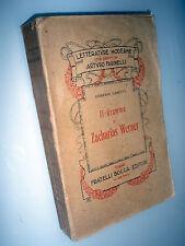 Il dramma di Zacharias Werner / Giuseppe Gabetti BOCCA 1916