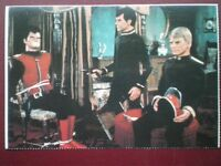 POSTCARD GERRY ANDERSON - CAPTAIN SCARLET & TWO BAD GUYS