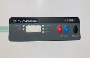 VERY RARE! NEW Replacement for Hayward H Series Pool Heater Keypad - by INSYNC
