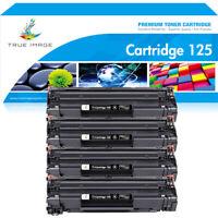 4PK Toner Compatible for Canon 125 CRG 125 ImageClass MF3010 LBP6000 LBP6030w