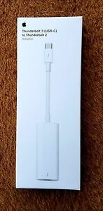 Apple Thunderbolt 3 (USB-C) to Thunderbolt 2 Adapter MMEL2AM/A *NEW*