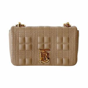 Burberry Mini Quilted Lola Shoulder Bag