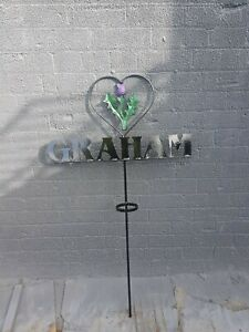 Wrought Iron Memorial Flower Stand (FS050)