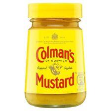 Colman's ORIGINALE INGLESE senape 100g Jar-venduti in tutto il mondo dal Regno Unito