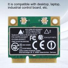 Scheda Rete Mini PCI-E Wireless 433Mbps WIFI Bluetooth 2.4G 5Ghz per QCA9377