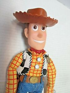 "original 14"" tall talking Toy Story Woody plush / doll (not working) Thinkway"