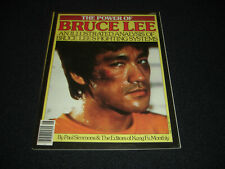 Bruce Lee The Power of Bruce Lee Magazine Vintage 1979