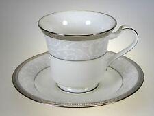 Noritake Lenore Platinum Cup & Saucer