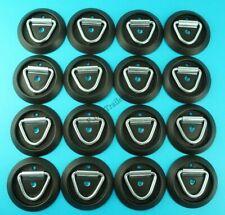 16 x Lashing Ring Tie Down & Black Base - Ifor Williams Horse Box & Trailers