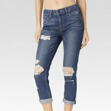 New PAIGE Callie crop high rise boyfriend jeans Size 28