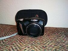 Canon PowerShot SX130 IS 12.1MP 12x Zoom Digital Camera w/ Travel Case