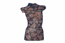 Polo Neck/Roll Neck Mini Floral Dresses for Women