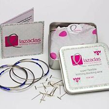 Lazadas Knitting Accessories Blocking Wires for Knitting and Crochet, Mixed Set