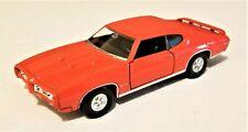 Welly - 1:34-1:39 Scale Model 1969 Pontiac GTO Orange (BBWE43714DO)
