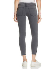 NWT Current/Elliott The Soho Zip Stiletto Ankle Skinny Jeans SZ 29 Gunmetal Grey