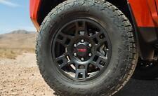 """Toyota 4Runner 1984 - 2017 TRD Pro SEMA 17"""" BLACK Alloy Rims Set - OEM NEW!"""