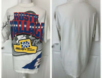 RUSTY WALLACE Mens Vintage 90's NASCAR Racing Shirt Size XL Miller Genuine Draft