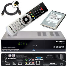 HD TWIN Sat Receiver Megasat 935 + 1TB Festplatte LAN PVR Live TV Stream USB
