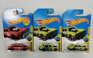 Hot Wheels Assorted Lot of 3 Time Attaxi HW City Works Die Cast Cars 1/64