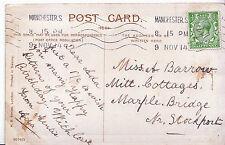Genealogy Postcard - Family History - Barrow - Marple Bridge - Stockport  U4099