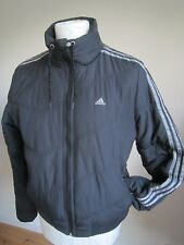WOMEN'S ADIDAS 3-STRIPE PADDED BOMBER JACKET   L- XL  winter warm coat