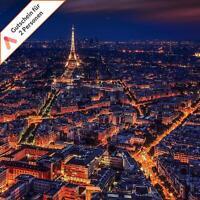 3 - 4 Tage Paris First Class Wochenende Kurzreise für 2 Personen Hotel Gutschein
