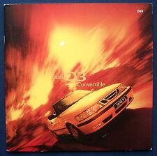 Prospekt brochure 1999 Saab 9-3 93 Convertible Cabrio (USA)