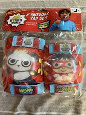 Ryan's World Awesome Pad Set Knee & Elbow pads Combo Panda Red Titan New Sealed