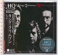 King Crimson , Red  (Ristampa-Reissue  HDCD, HQCD-PaperSleeve)
