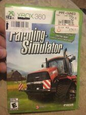 Farming Simulator (Microsoft Xbox 360, 2013)