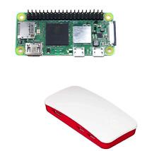 Raspberry Pi Zero 2 W with Raspberry Pi Zero Official Case, Raspberry Pi Zero 2W