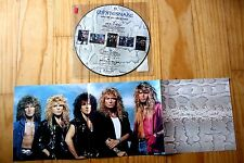 """EX! WHITESNAKE GIVE ME ALL YOUR LOVE / FOOL FOR LOVIN' 12"""" PICTURE DISC + POSTER"""
