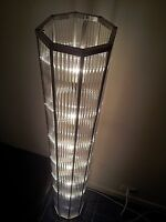 ART DECO BAUHAUS, FRENCH FLOOR LAMP, CLASSIC OCTAGON DESIGN,60in x 10in !!!