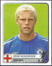 PANINI 1955-2005 CHAMPIONS OF EUROPE- #143-CHELSEA & ICELAND-EIDUR GUDJOHNSEN