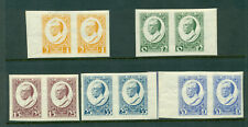 LATVIA LETTLAND 1929 PAIR SET OF 10 STAMPS Sc.B46-B50 M.144-148A MINT 2210