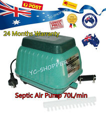 Resun LP-60 Septic Tank Air Pump 70L/min Pond & Aquarium 4200L/HR