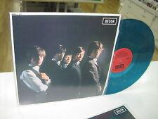 ROLLING STONES UK LP FIRST ALBUM TRANSLUCID BLUE VINYL