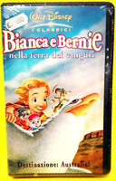 BIANCA E BERNIE NELLA TERRA DEI CANGURI film Disney Vhs RARA video x idea regalo