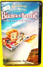 BIANCA E BERNIE NELLA TERRA DEI CANGURI film Disney Vhs RARA video x idea regalo
