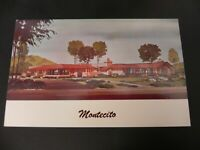 The Montecito Murphy Ranch East Whittier California CA Showcase Home Ad Postcard