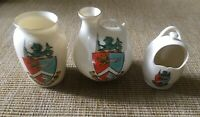 Vintage Crested China Margate Kent W H Goss Collectable Ornaments