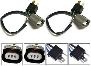 Conversion Wire 9003 HB2 H4 TO 9008 H13 Two Harness Head Light Bulb Halogen Lamp