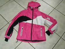 #Super Ski-Jacke Winter Jacke Schnee Jacke ETIREL Gr.152 pink weiß schwarz