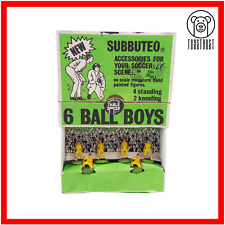 More details for subbuteo ball boys figures vintage set c134 table football retro soccer toy s6