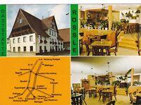 Rottenburg - Eckenweiler , Gaststätte Rössle ,  Ansichtskarte 1989 gelaufen